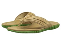 Sebago Becket Thong Taupe Leather Men's Sandals
