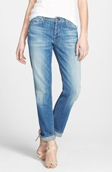 Women's 7 For All Mankind 'Josefina' Boyfriend Jeans Bright Light Broken Twill
