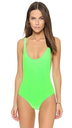 Karla Colletto Elle One Piece Neon Green