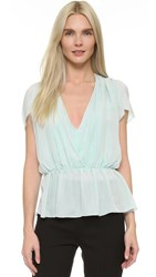 Tamara Mellon Blouson Top Cloud