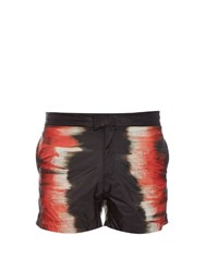 Tomas Maier Paint Stripe Swim Shorts Multi
