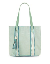 Steve Madden Kaya Faux Leather Tote Mint