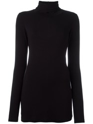 Dondup Roll Neck Jumper Black