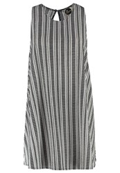 All About Eve Poolside Summer Dress Black White