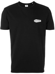 Edwin Chest Patch Shortsleeved T Shirt Black