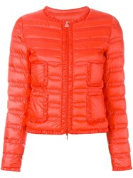 Moncler 'Lissy' Puffer Jacket Pink And Purple
