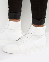 Kg By Kurt Geiger Glastonbury Trainers In White Leather White