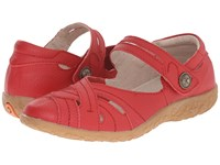 Spring Step Hearts Red Women's Shoes