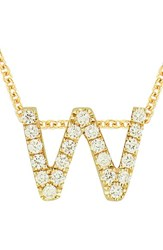 Bony Levy Women's Pave Diamond Initial Pendant Necklace Nordstrom Exclusive Yellow Gold W