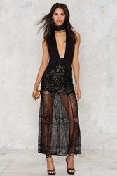 Nasty Gal Sequin Your Heart Maxi Skirt