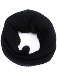 Rick Owens Circle Scarf Black