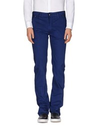 Heavy Project Trousers Casual Trousers Men Blue