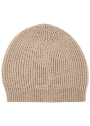 Rick Owens Pearl Ribbed Cashmere Blend Beanie