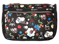 Le Sport Sac Everyday Cosmetic Case School's Out Cosmetic Case Black