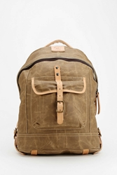 Will Leather Goods Dome Backpack Khaki