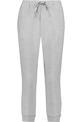 Clu Cropped Jersey Track Pants Gray