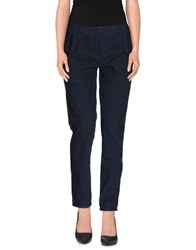 Qcqc Trousers Casual Trousers Women Dark Blue