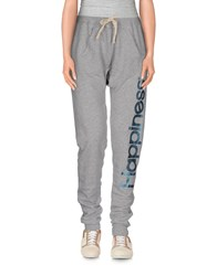 Happiness Trousers Casual Trousers Women Light Grey