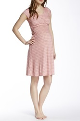 Majamas Lucy Maternity Nursing Gown Pink