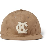 Kansas City Monarchs Appliqued Wool Baseball Cap Neutrals
