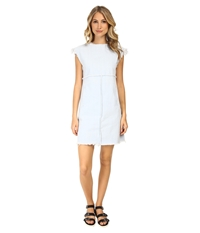 Marc By Marc Jacobs Fray Short Sleeve Dress