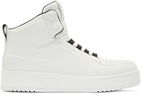3.1 Phillip Lim White Pl31 High Top Sneakers