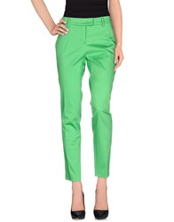 Frankie Morello Trousers Casual Trousers Women Green