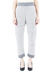 Lauren Manoogian Knitted Sweatpants Grey