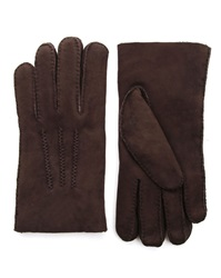 Agnelle Curly Dark Brown Gloves