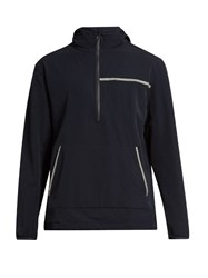 A.P.C. X Outdoor Voices Water Resistant Hooded Performance Jacket Dark Navy