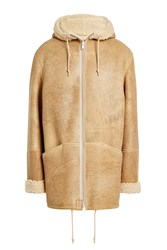 Yeezy Suede Jacket With Shearling Beige