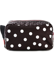 Dolce And Gabbana Polka Dot Print Wash Bag