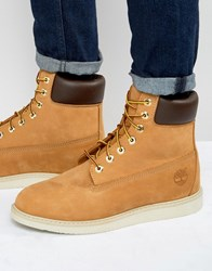 Timberland Newmarket Wedge Boots Brown