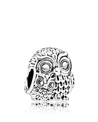 Pandora Design Charm Sterling Silver Charming Owls Moments Collection