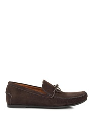 Tomas Maier Nubuck Suede Loafers
