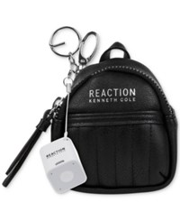 Kenneth Cole Reaction Backpack Keychain With Speaker Black