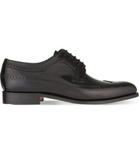 Barker Woodbridge Wingtip Derby Shoes Black