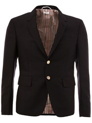 Thom Browne Flap Pocket Blazer Blue