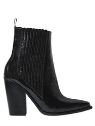 Sonia Rykiel 90Mm Naplack Leather Ankle Boots