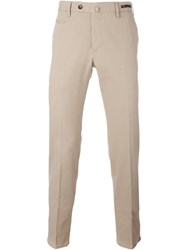 Pt01 Front Pleated Trousers Nude And Neutrals