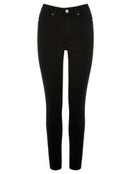 Oasis Lily Skinny Jeans Solid Black