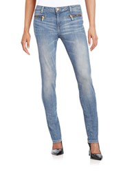 Michael Michael Kors Four Pocket Skinny Jeans Blue