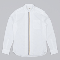 Ymc Stripe Placket Shirt White
