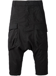 Alexandre Plokhov Drop Crotch Shorts Black