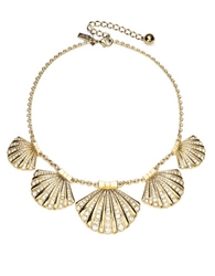 Kate Spade New York Shore Thing Clam Collar Necklace