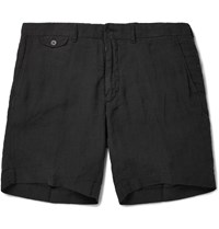 Polo Ralph Lauren Linen Shorts Black