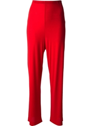 Missoni Vintage Wide Leg Trouser Red