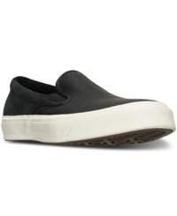 Converse Men's Deck Star '67 Slip On Casual Sneakers From Finish Line Black Egret Egret