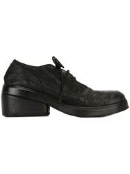 Marsell Marsa Ll Chunky Heel Lace Up Shoes Black
