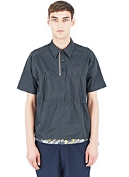 Archive Kolor Ruched Polo Shirt